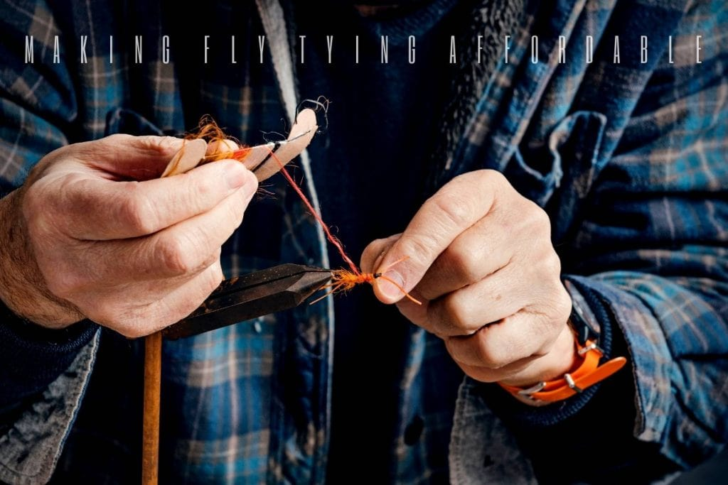 making fly tying affordable