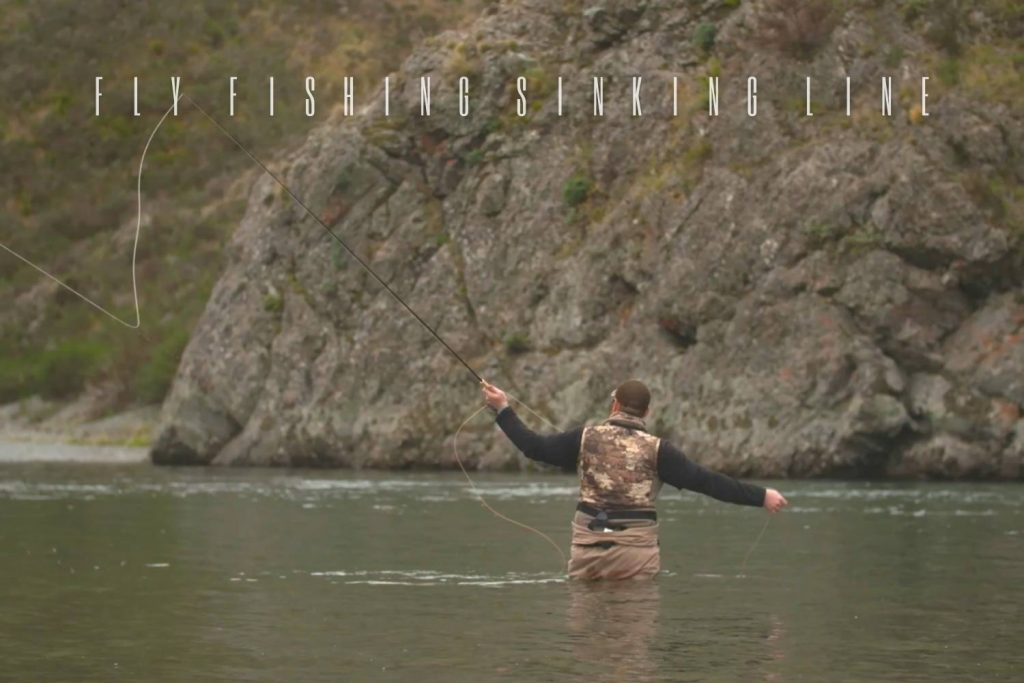Fly Fishing with Sinking Line