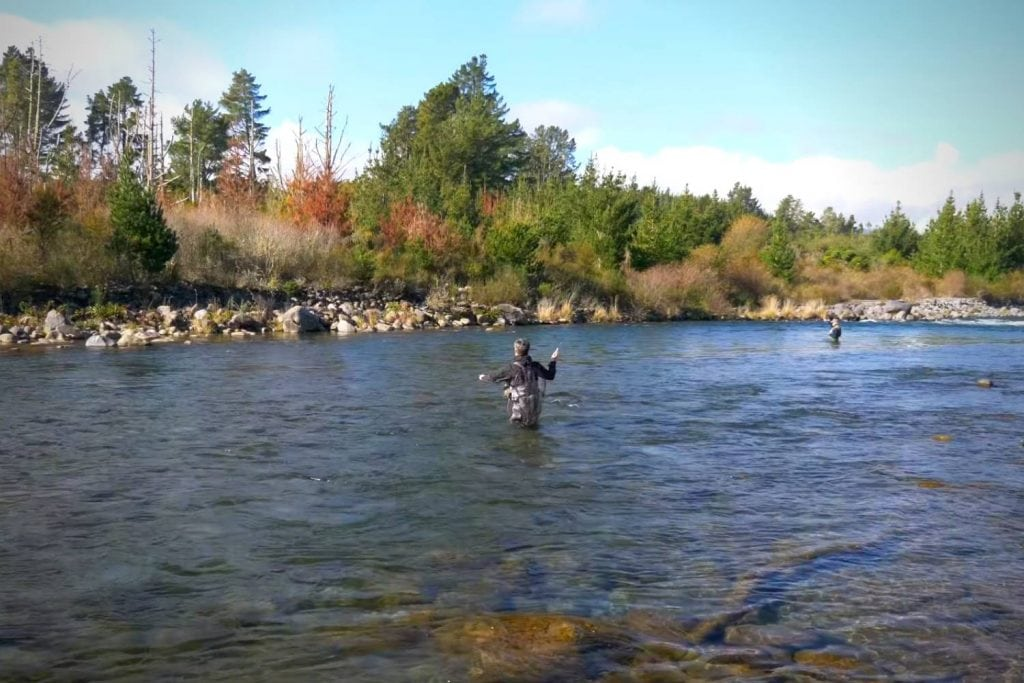 How do you fly fish with a dropper