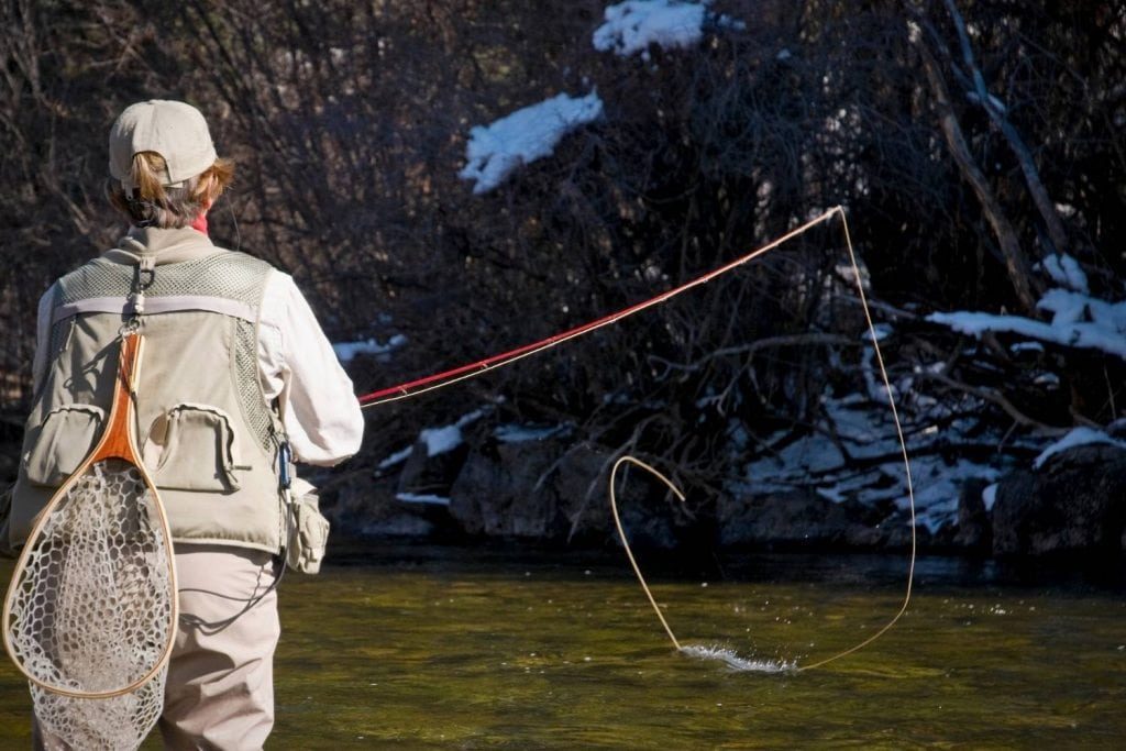 Fly Rods And Fly Line Weights