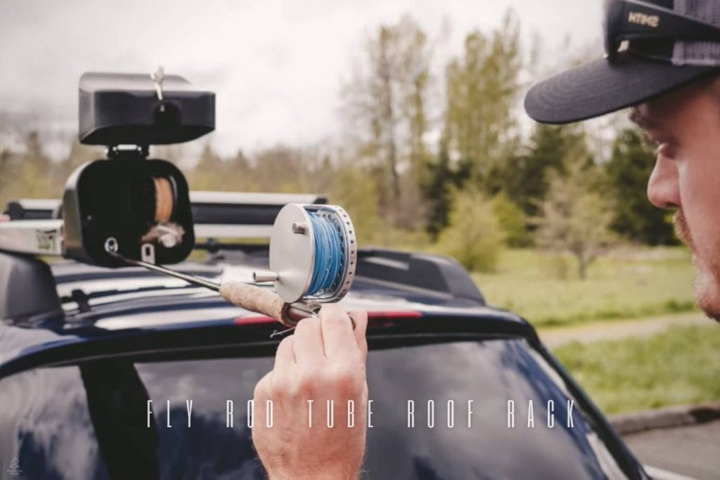 How to Build a Fly Rod Tube Roof Rack