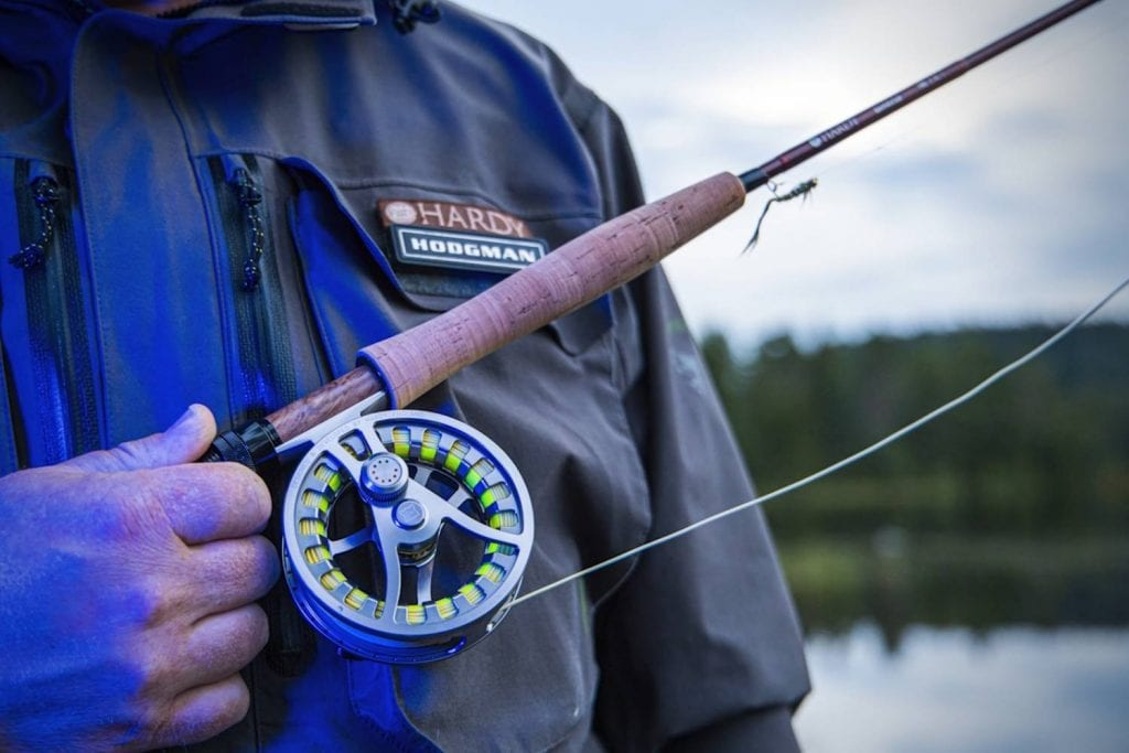 What fly line works best with the Hardy Shadow