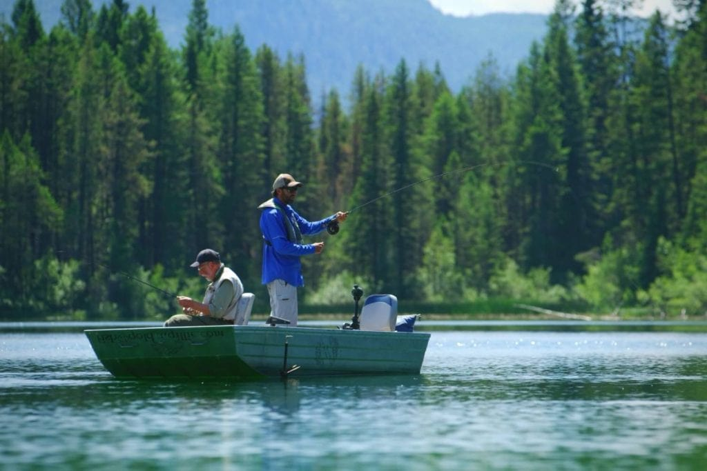 Fly Fishing For Trout At Different Depths