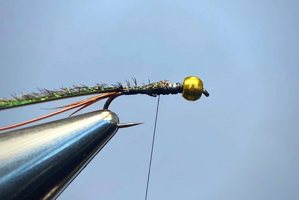 How To Tie A Prince Nymph Step 4