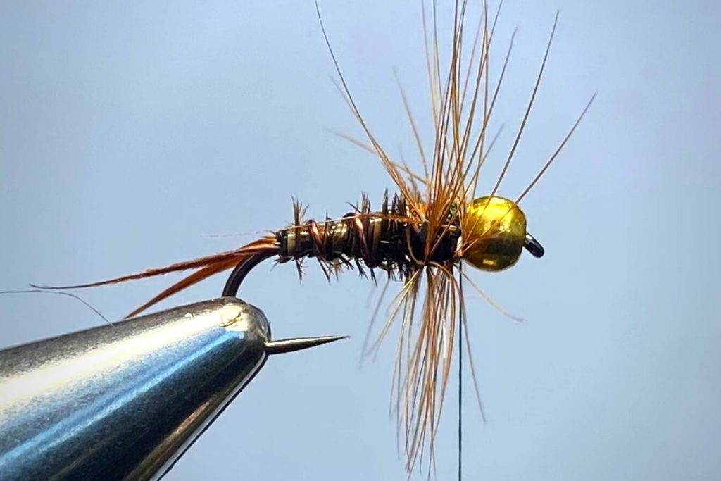 How To Tie A Prince Nymph Step 7
