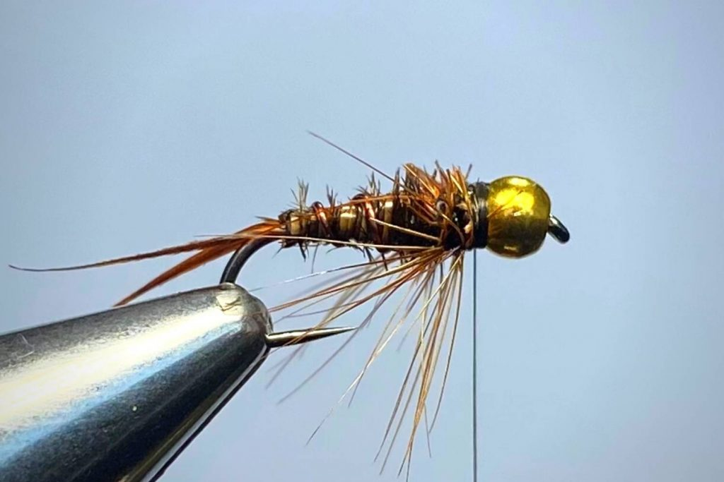 How To Tie A Prince Nymph Step 8