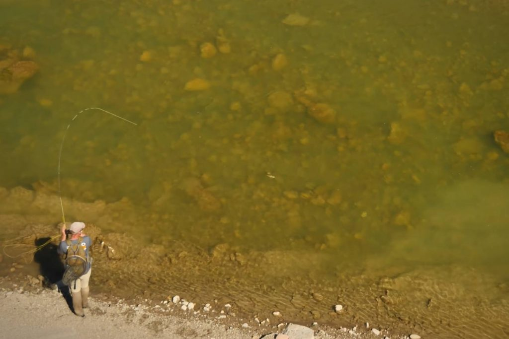 How to fish a wet fly