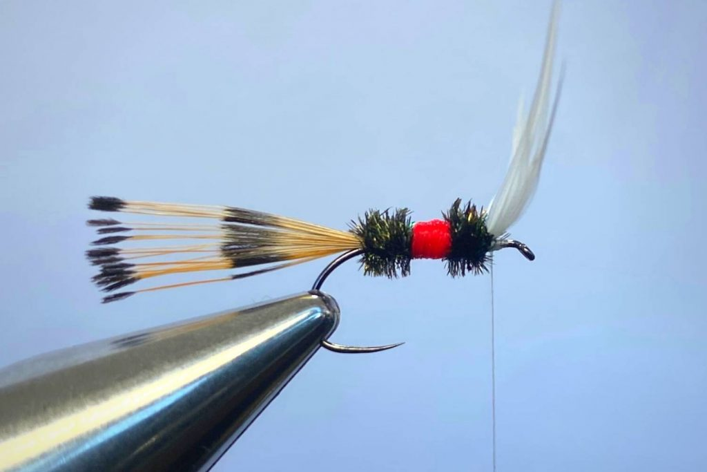 How to tie a Royal Coachman Fly Step 11