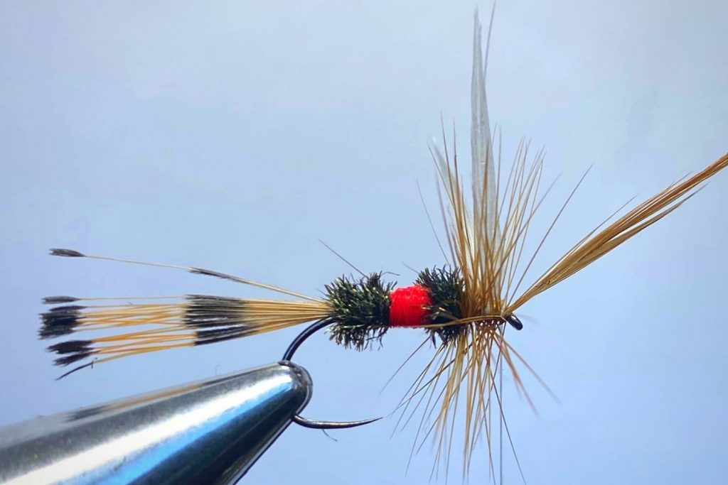 How to tie a Royal Coachman Fly Step 13