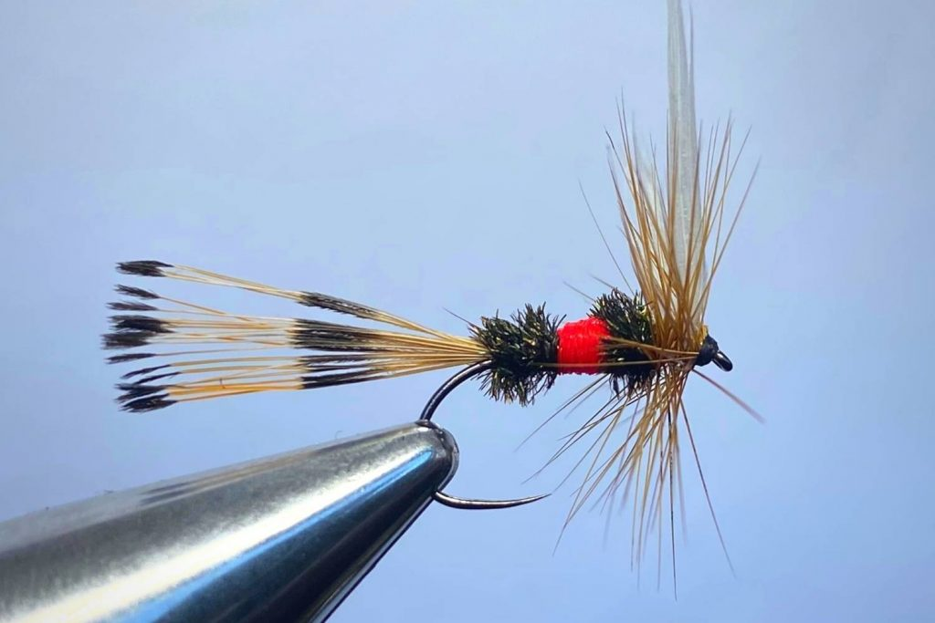 How to tie a Royal Coachman Fly Step 14