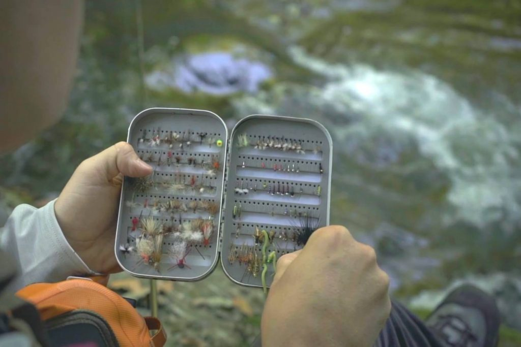 Picking Your Flies On The River