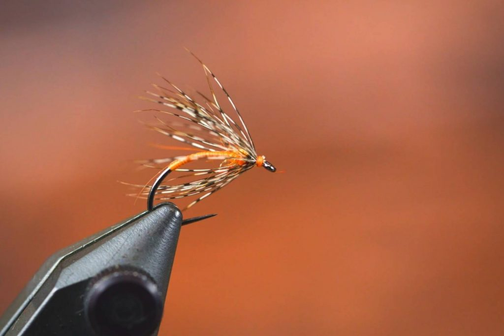 Use soft hackle wet fly patterns