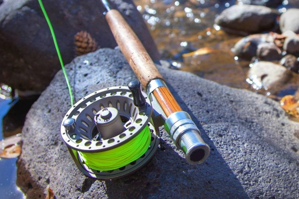 fly reel for muskie