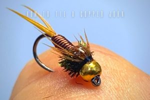 how to tie a copper john